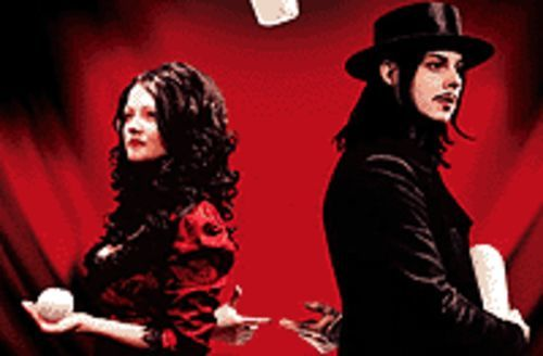 Jack and Meg White are the White Stripes.