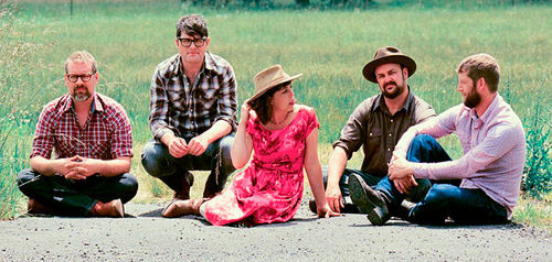 The Decemberists in summer garb.