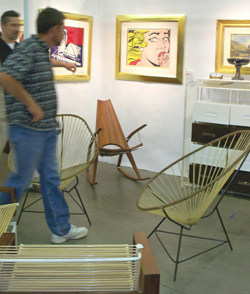 An exhibit from the 2009 Denver Modernism Show.