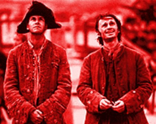 Thieves in the night: Jonny Lee Miller and Robert Carlyle in Plunkett and Macleane.