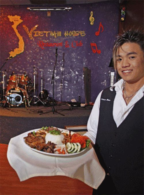 Vietnam House offers authentic food and very unusual  dinner theater.