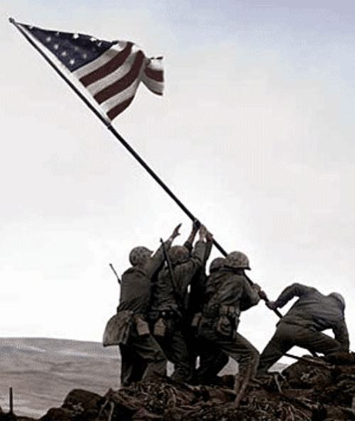 This famous picture is worth more than a thousand  words. Flags takes a riveting look at its  backstory.