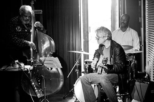 The Marc Ribot Trio shares a fondness for Albert Ayler.