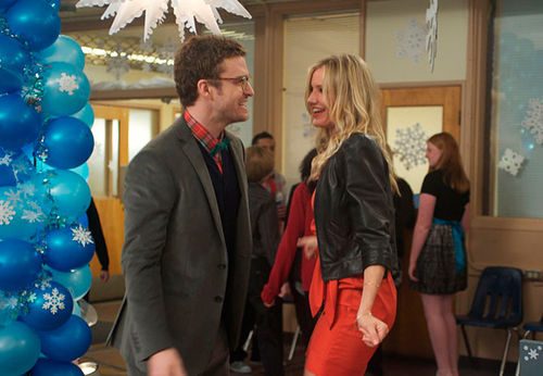 Justin Timberlake and Cameron Diaz star in Bad Teacher.