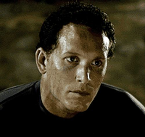 Cole Hauser hits bottom in The Cave.