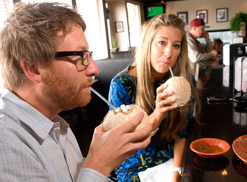 Slurp up the tastes of Jalisco (including some exotic beach drinks) at El Olvido.