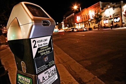 Public Works has added stickers to meters in an attempt to clear up confusion.