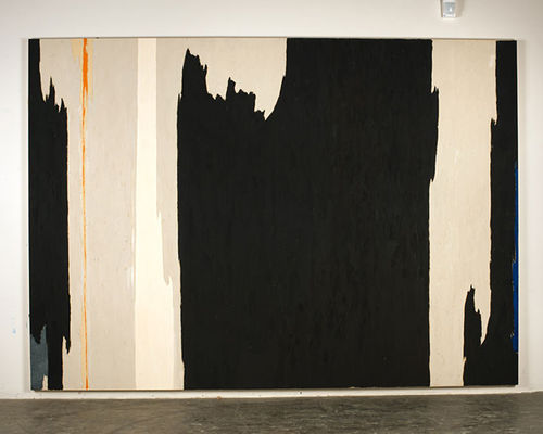 """Untitled (PH-1123),"" by Clyfford Still, oil on canvas, 1954."