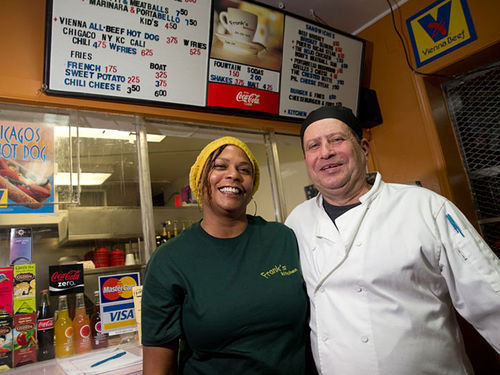 Dina and Frank Berta have made Frank's Kitchen part of the Whittier neighborhood.