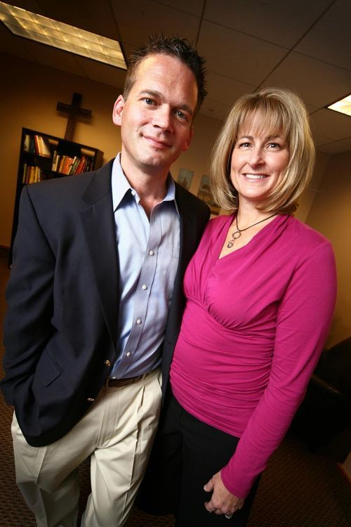 Leo and Cathie Frazzini Brunnick see the Internet as a path to religious understanding.
