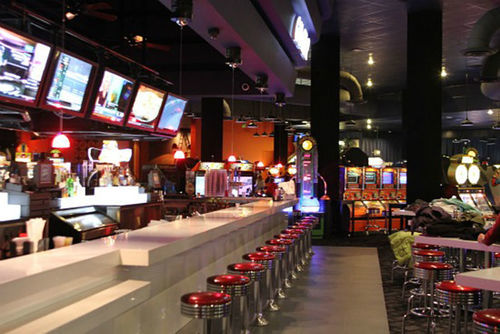 The Game Bar at Dave & Buster's.