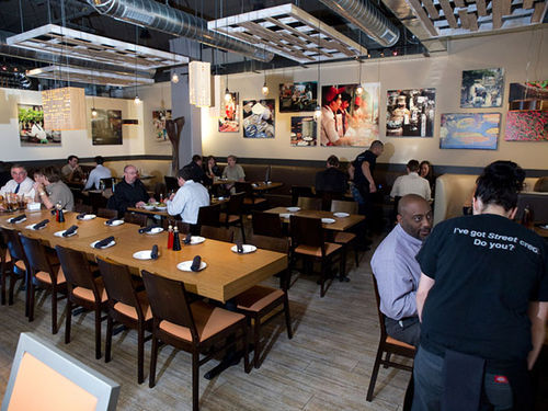 Street Kitchen Asian Bistro brings some ethnic flavor to the Tech Center.