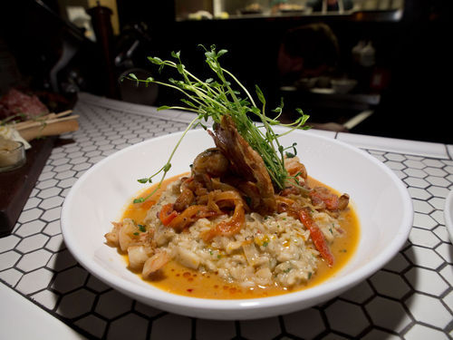 Crimson Canary's risotto is an offer you can't refuse. See more photos from the Crimson Canary.
