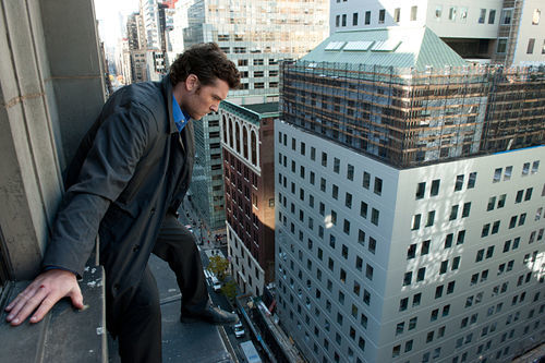 Sam Worthington stars in Man on a Ledge.