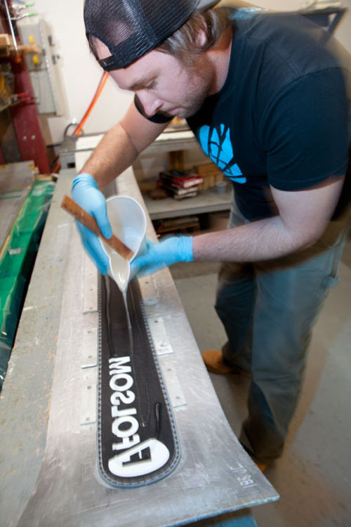 Mike McCabe at Folsom Custom Skis in Boulder.