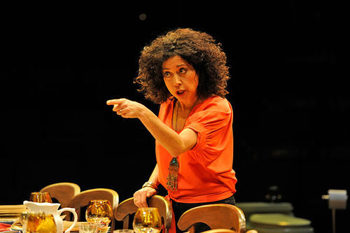 Mimi Lieber as Myriam in Two Things You Don't Talk About At Dinner.