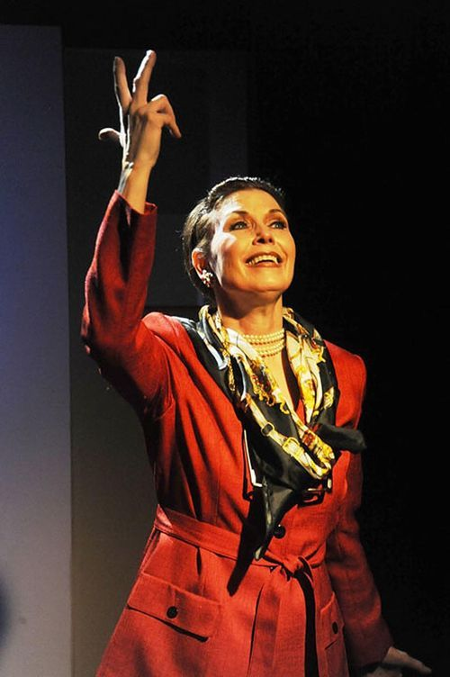 Marcia Ragonetti as Maria Callas in Master Class.