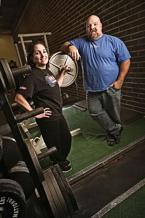 Dan and Jennifer Gaudreau helped Aurora land two major weightlifting tournaments.