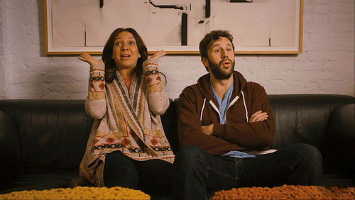 Maya Rudolph and Chris O'Dowd in Friends with Kids.