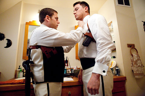 Jonah Hill (left) and Channing Tatum star in 21 Jump Street.