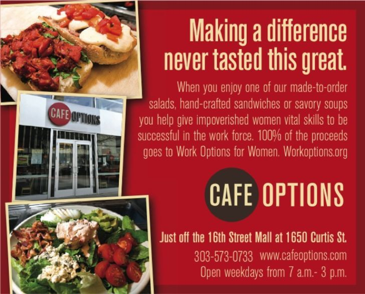 Cafe Options / Work Options for Women