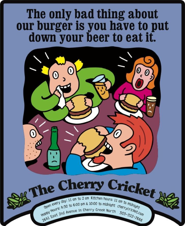 Cherry Cricket-PRINT