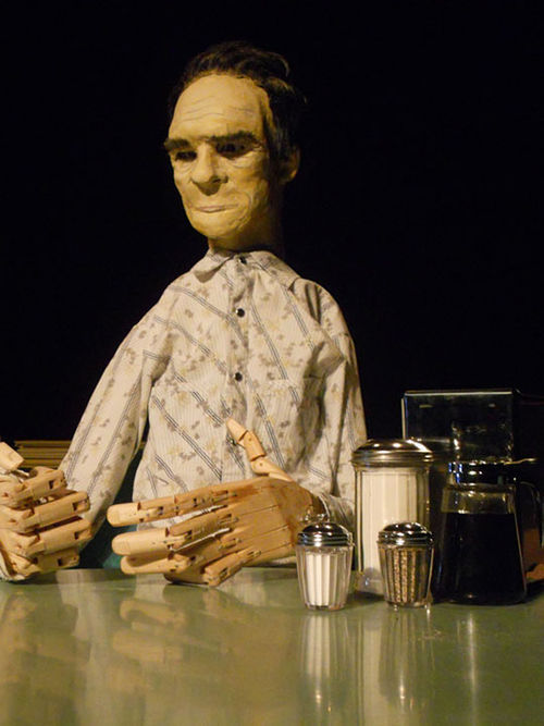 Buntport Theater continues a tradition of puppetry in Tommy Lee Jones Goes to Opera Alone.