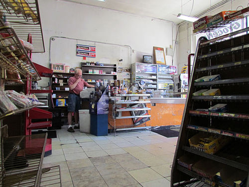 Wayne Adams has closed the register on Kelly's Superette.
