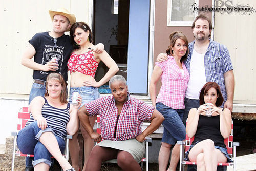 The cast of The Great American Trailer Park Musical