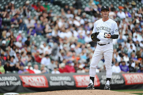 Infographic: Pitcher Jamie Moyer has shut down the Rockies' best hitters