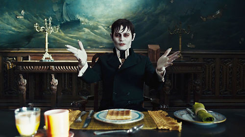 Johnny Depp stars in Dark Shadows.