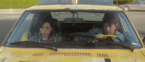 Mark Duplass and Aubrey Plaza in Safety Not Guarenteed