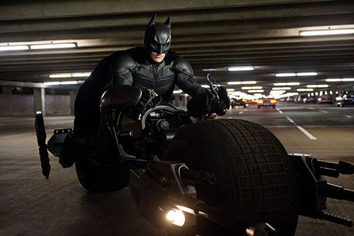Christian Bale stars in The Dark Knight Rises.