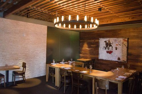 Semple Brown Design created a cool interior for Coohills.