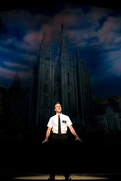 Gavin Creel in The Book of Mormon.