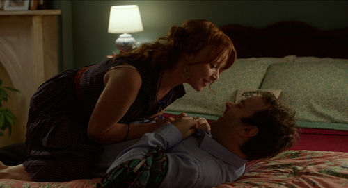 Mike Birbiglia and Lauren Ambrose star in Sleepwalk With Me.
