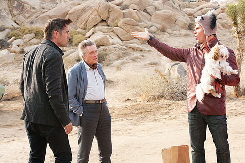 Colin Farrell, Christopher Walken and Sam Rockwell star in Seven Psychopaths.