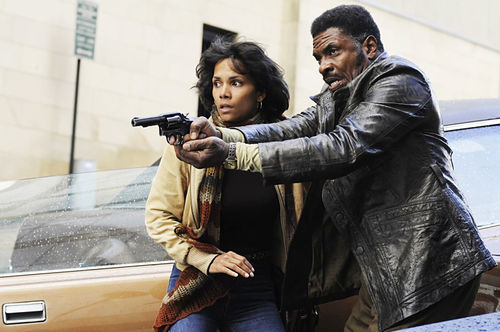 Halle Berry and Keith David star in Cloud Atlas.