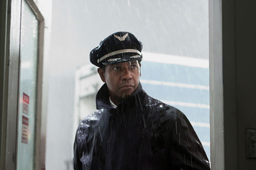Denzel Washington stars in Flight.