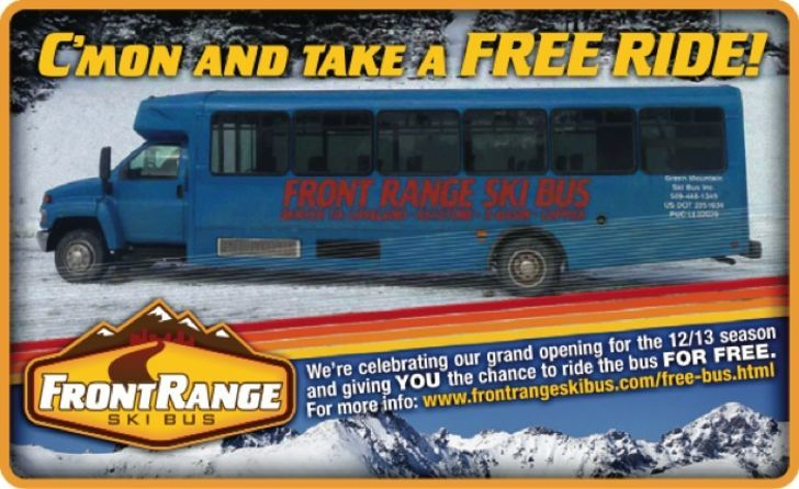 Front Range Ski Bus