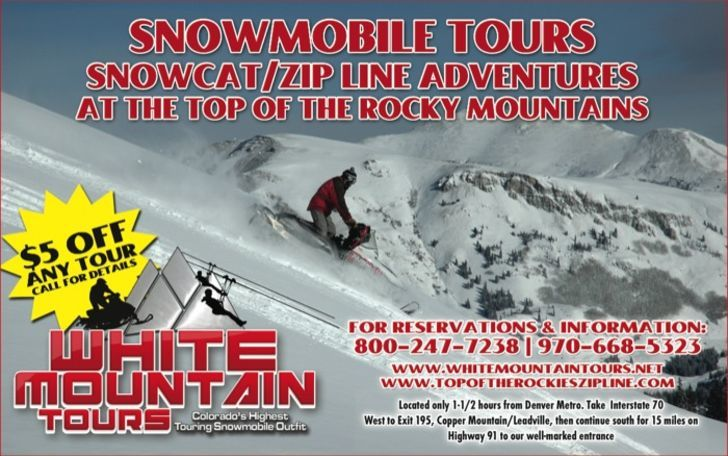 White Mountain Snowmobile Tours Inc