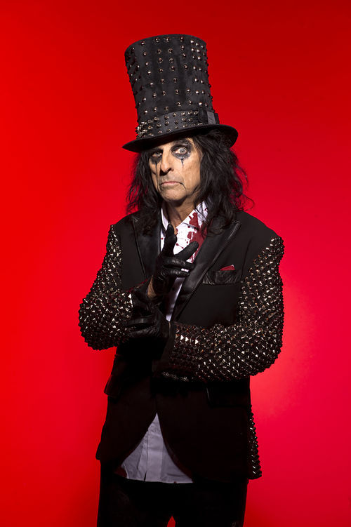 He was born Vincent Furnier, but you know him as Alice Cooper.