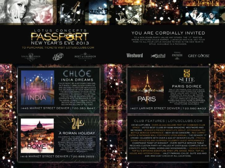 Lotus Concepts Passport New Year's Eve 2013