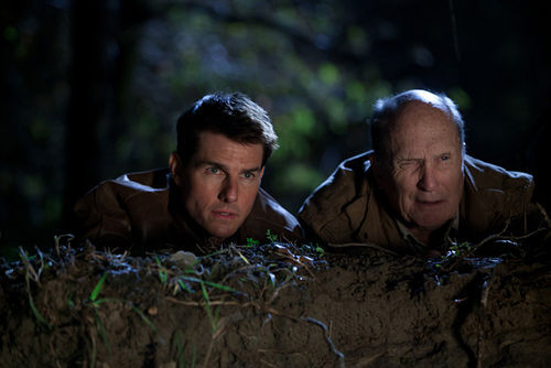 Tom Cruise and Robert Duvall star in Jack Reacher.