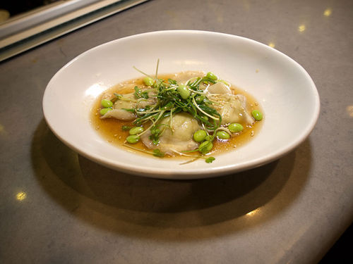 The edamame dumplings at True Food Kitchen are truly delicious. See also: A Closer Look at True Food Kitchen
