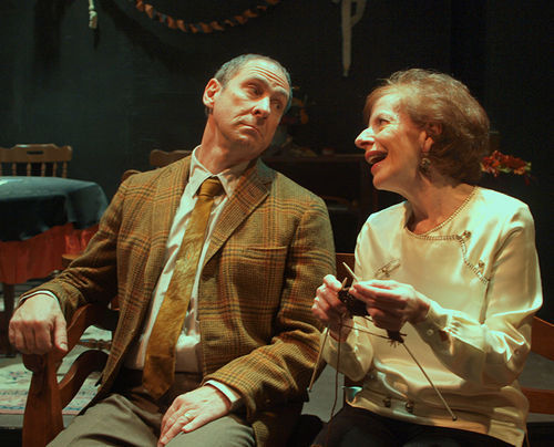 Leroy Leonard and Deborah Persoff in Spoon River Anthology.