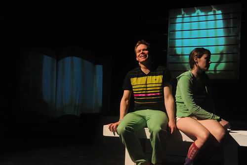 Ryan Wuestewald and Sonia Justl in Jon.