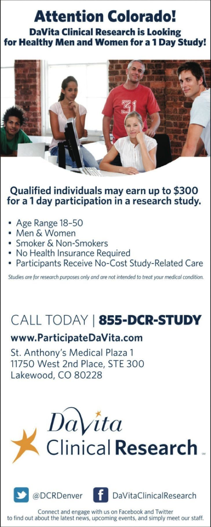 DaVita Clinical Research