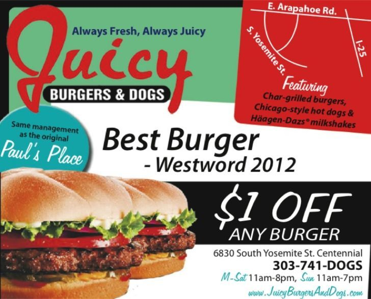 Juicy Burgers & Dogs