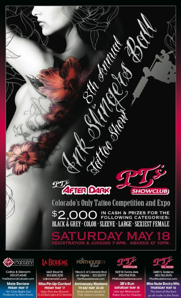 8th Annual Ink Slingers Ball